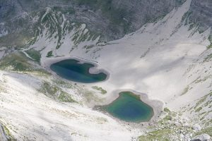 Lago di Pilato dalla cima del Redentore