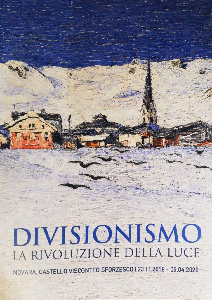 locandina della mostra Divisionismo