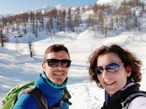 ragazzi sulla neve