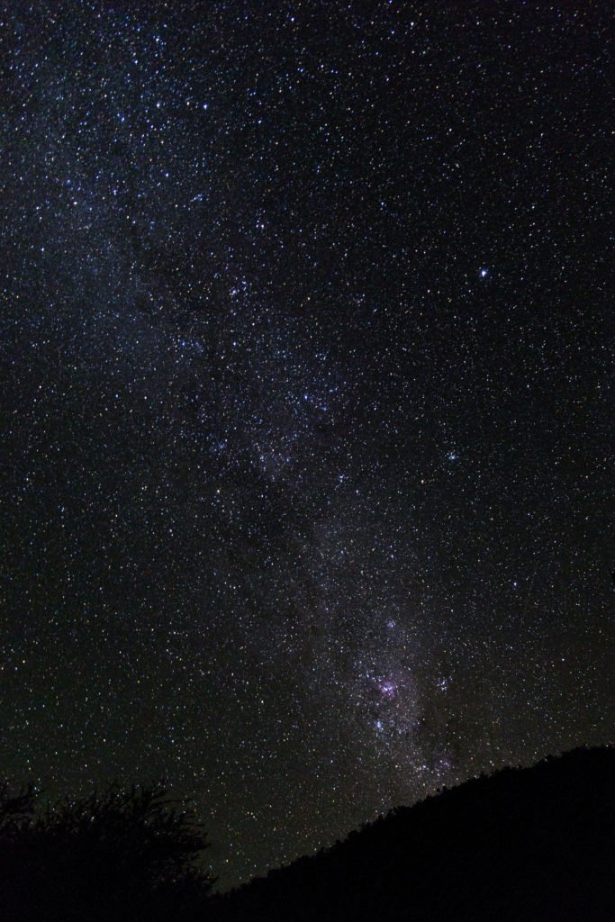 Via lattea in Namibia