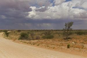 Temporale in Namibia