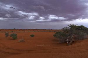 temporale deserto Kalahari