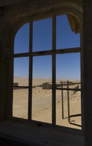 città mineraria abbandonata