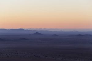 Ora blu nel deserto