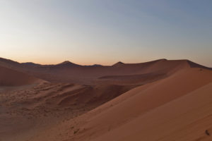 alba dalla duna 45, Namibia