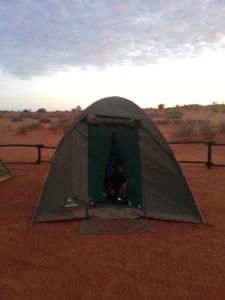 tenda deserto kalahari