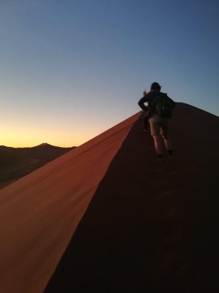 Salita all'alba della duna 45