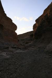 tramonto Sesriem Canyon