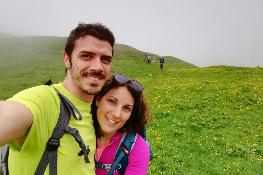 coppia all'Alpe Baranca