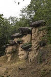Ciciu del villar monoliti di roccia