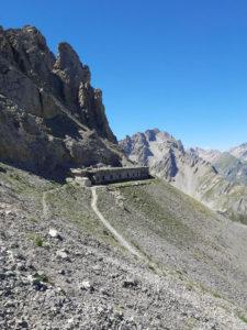 caserma difensiva sentiero Frassati