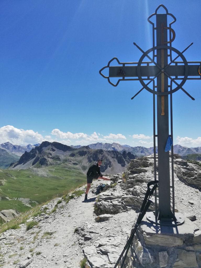 Croce di vetta Monte Soubeyran