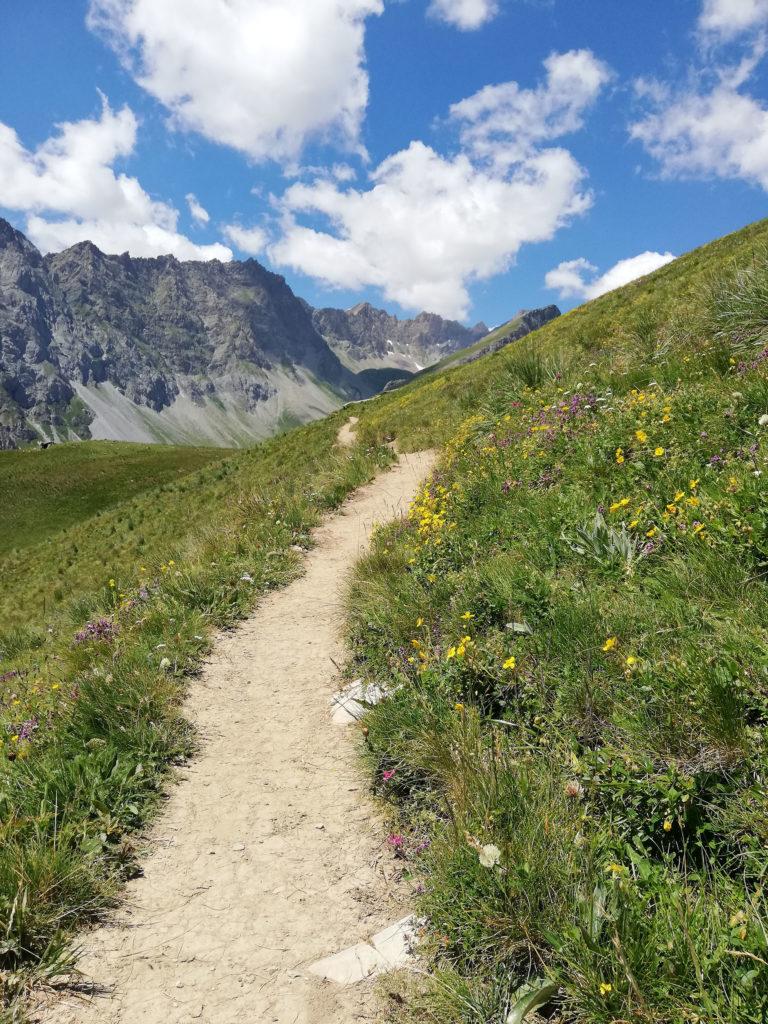 sentiero croce provenzale valle Maira