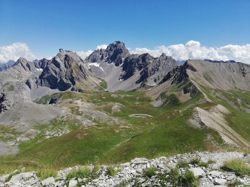 vista dal monte Soubeyran