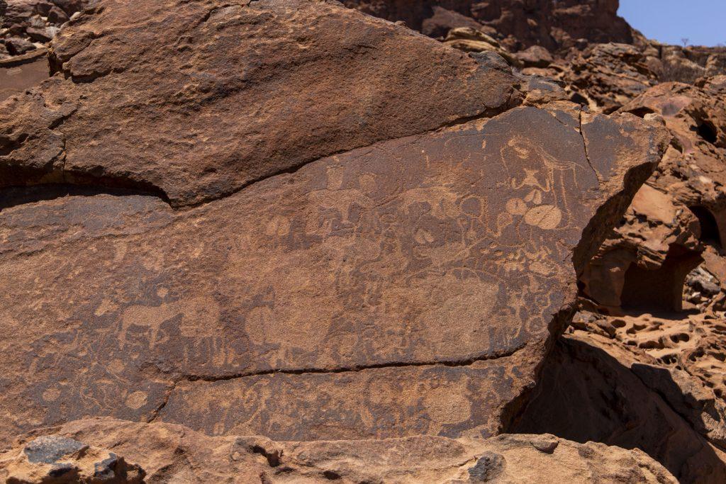 incisioni rupestri Twyfewlfontein