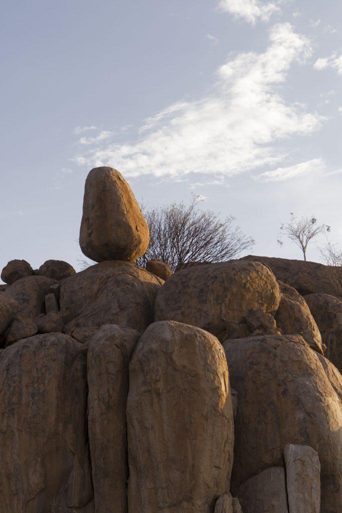 rocce camping Madisa Namibia