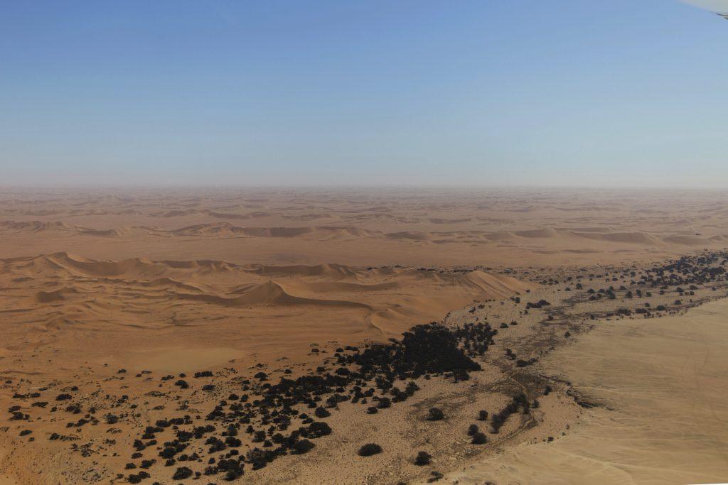 deserto Namib dall'alto