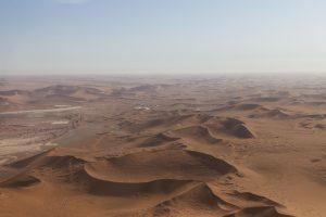 Namib visto dall'alto