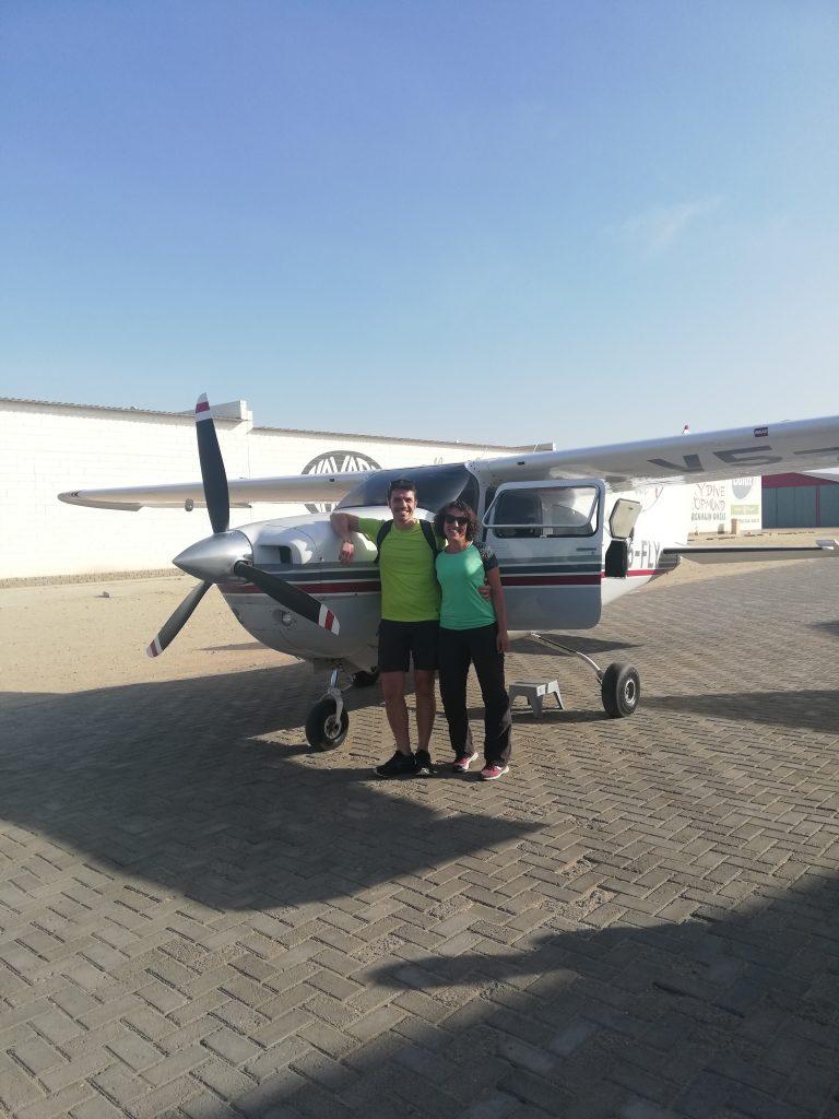 aereo da turismo Sossusfly