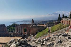 teatro greco Etna