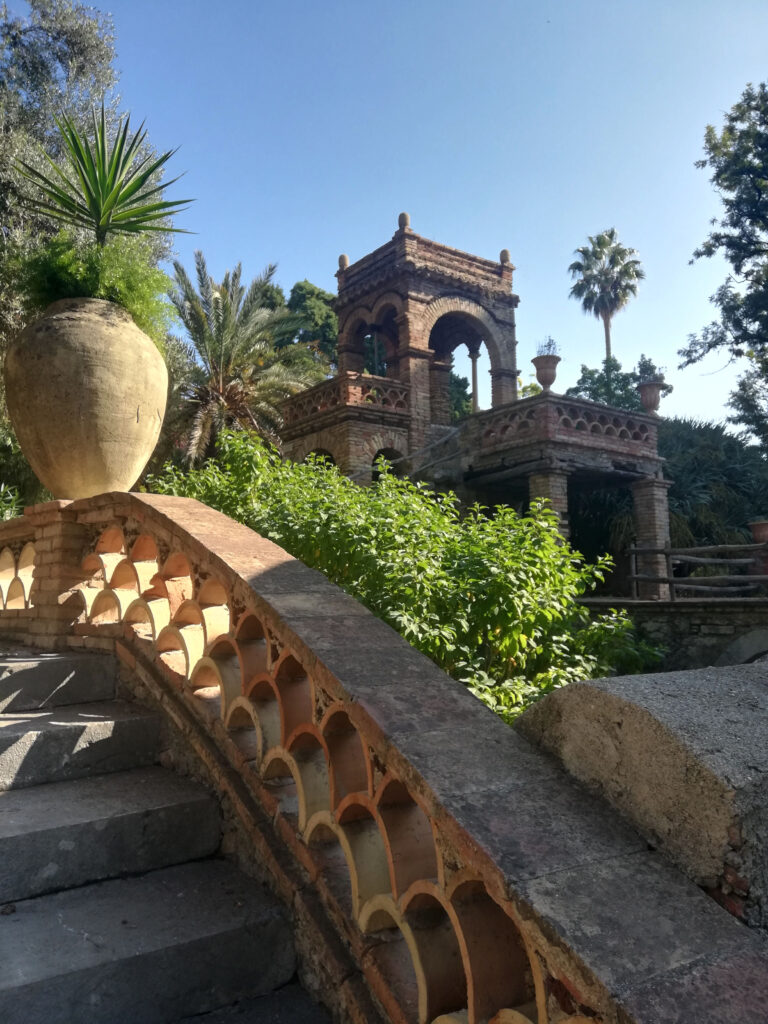 villa Taormina con giardino inglese