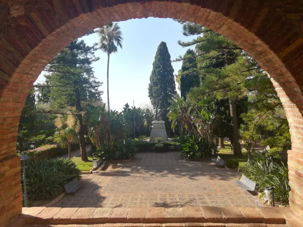 giardino villa comunale Taormina