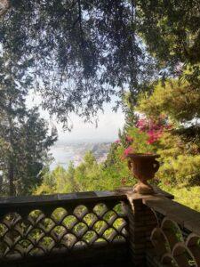 dettaglio villa comunale Taormina