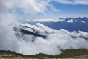 nuvole in vetta