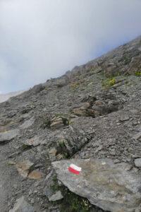 sentiero roccioso